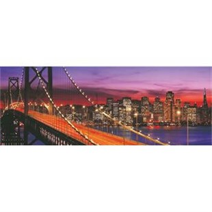 1000 Parça Puzzle Panorama Bridge of San Francisco