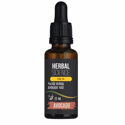 HERBAL SCIENCE Avokado Bakım Yağı 22 ML