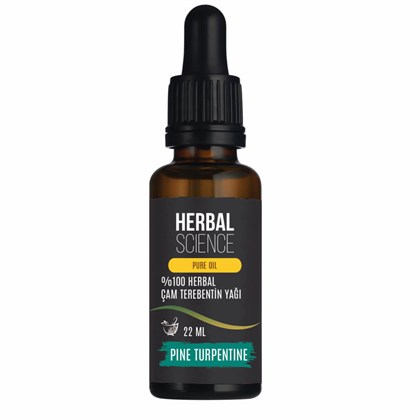 HERBAL SCIENCE Çam Terebentin Bakım Yağı 22 ML