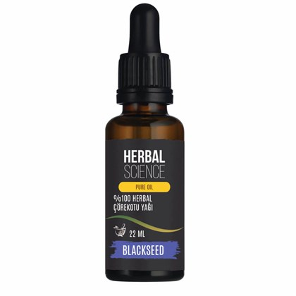 HERBAL SCIENCE Çörekotu Bakım Yağı 22 ML