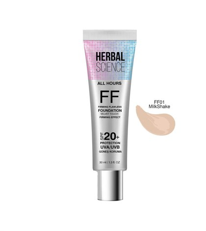 HERBAL SCIENCE FF-01 Milkshake Fondöten 30 ML