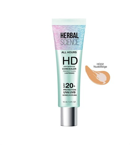 HERBAL SCIENCE HD-02 Nude Beige Concealer 15 ML