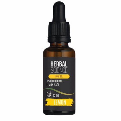 HERBAL SCIENCE Limon Bakım Yağı 22 ML